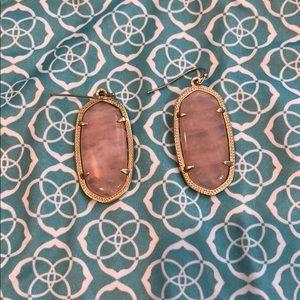 Kendra Scott Rose Gold Earrings